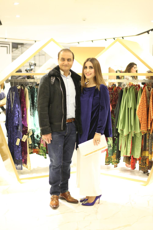 Ammar Gulzar and Shazia.