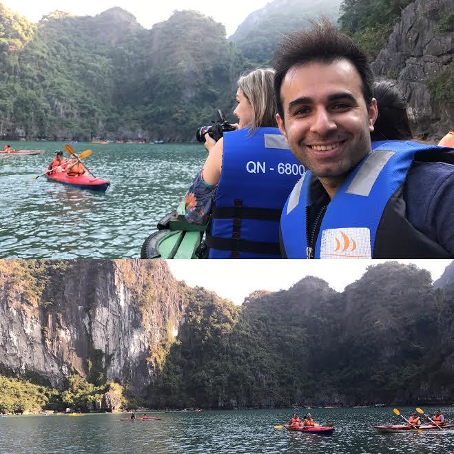 A river rafting selfie is a must!