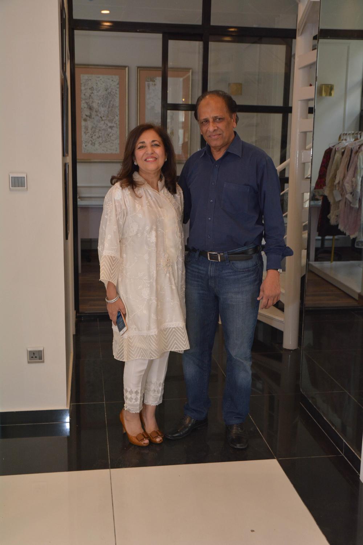 Farah and Talib Aziz