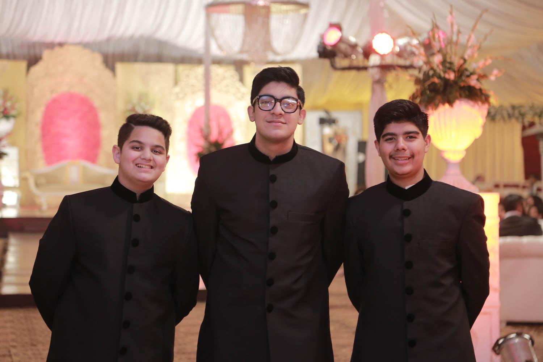 Abubakr,Essa and Valeed