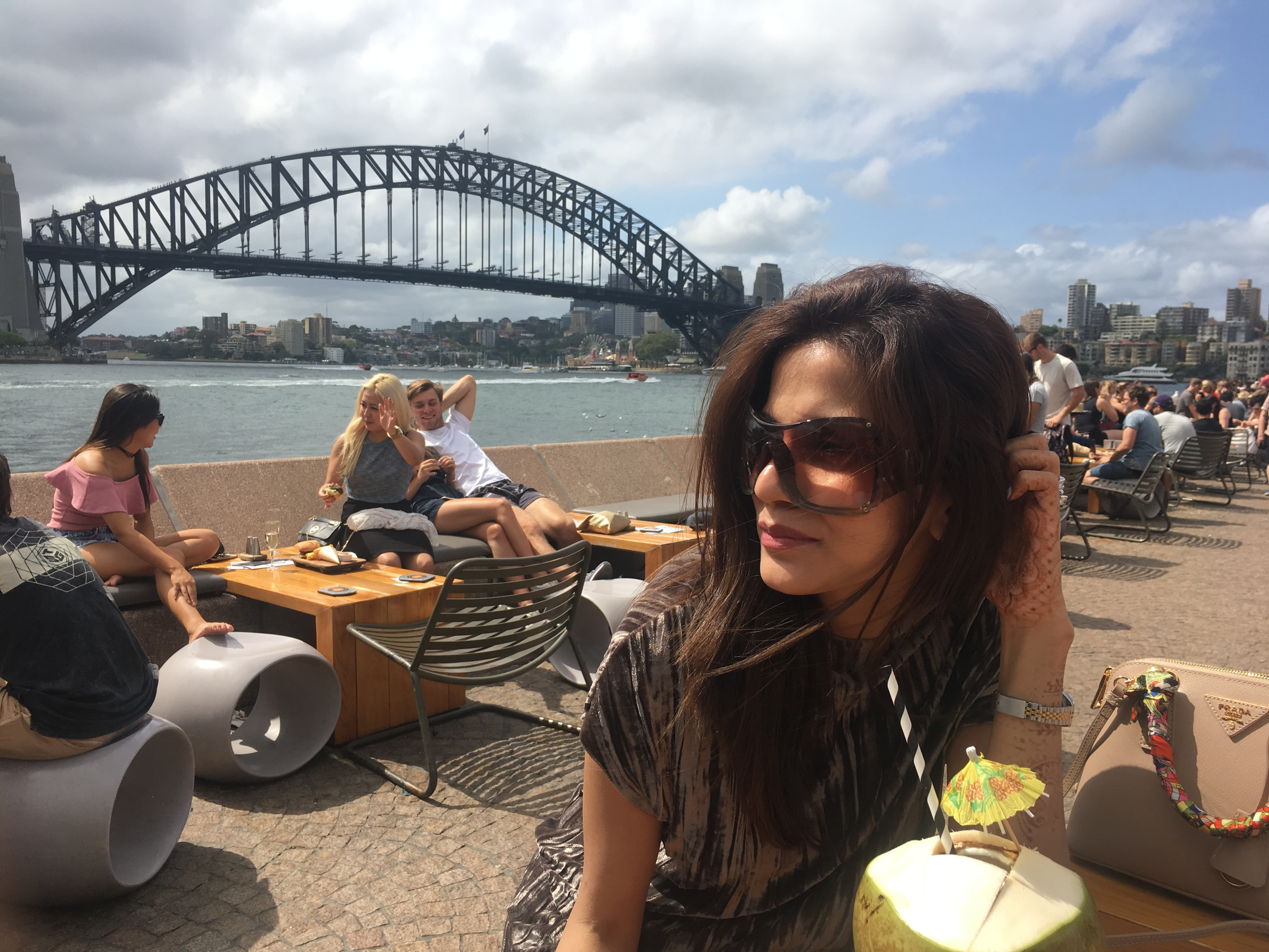 Great food with a gorgeous view, Opera Bar and Kitchen is a must!!