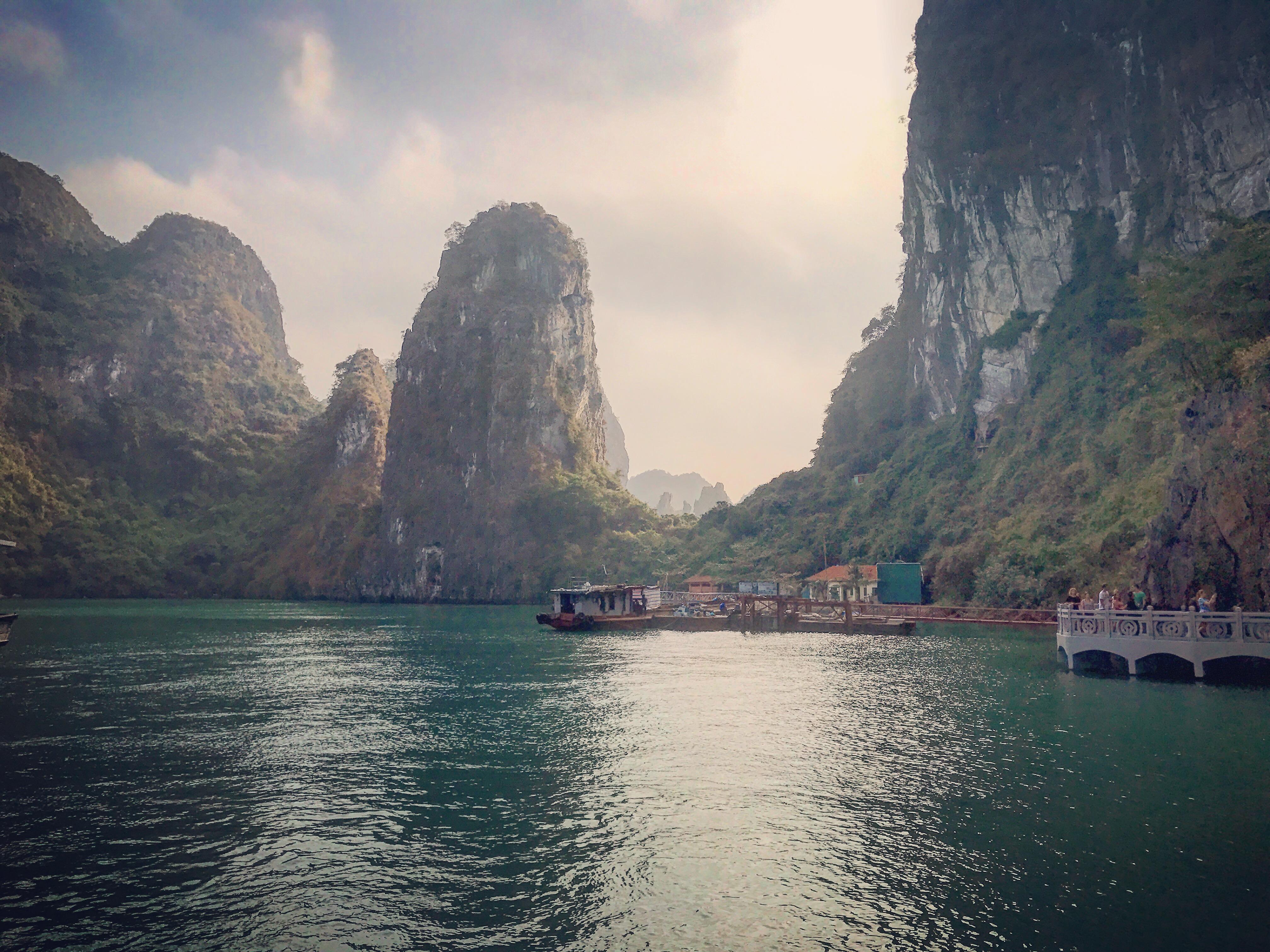 HalongBay at Daybreak in Vietnam