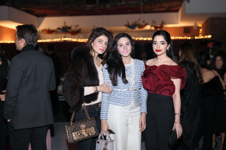 Maryam Warraich, Huma Adil and Noor Haroon