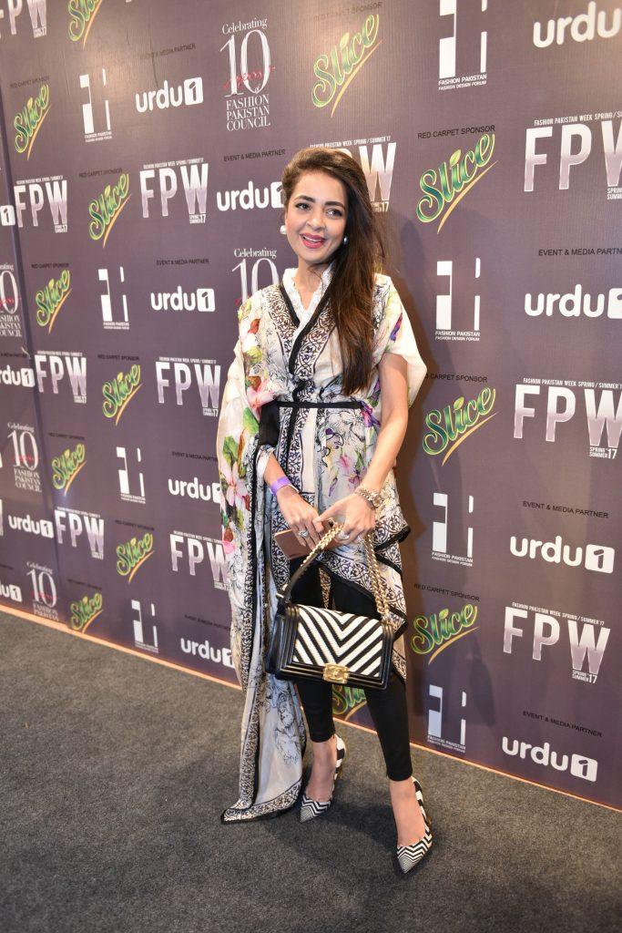 Maliha Aziz in Farah Talib Aziz