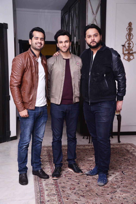 Muhammad Khar,Jazil and Shanzer Warraich
