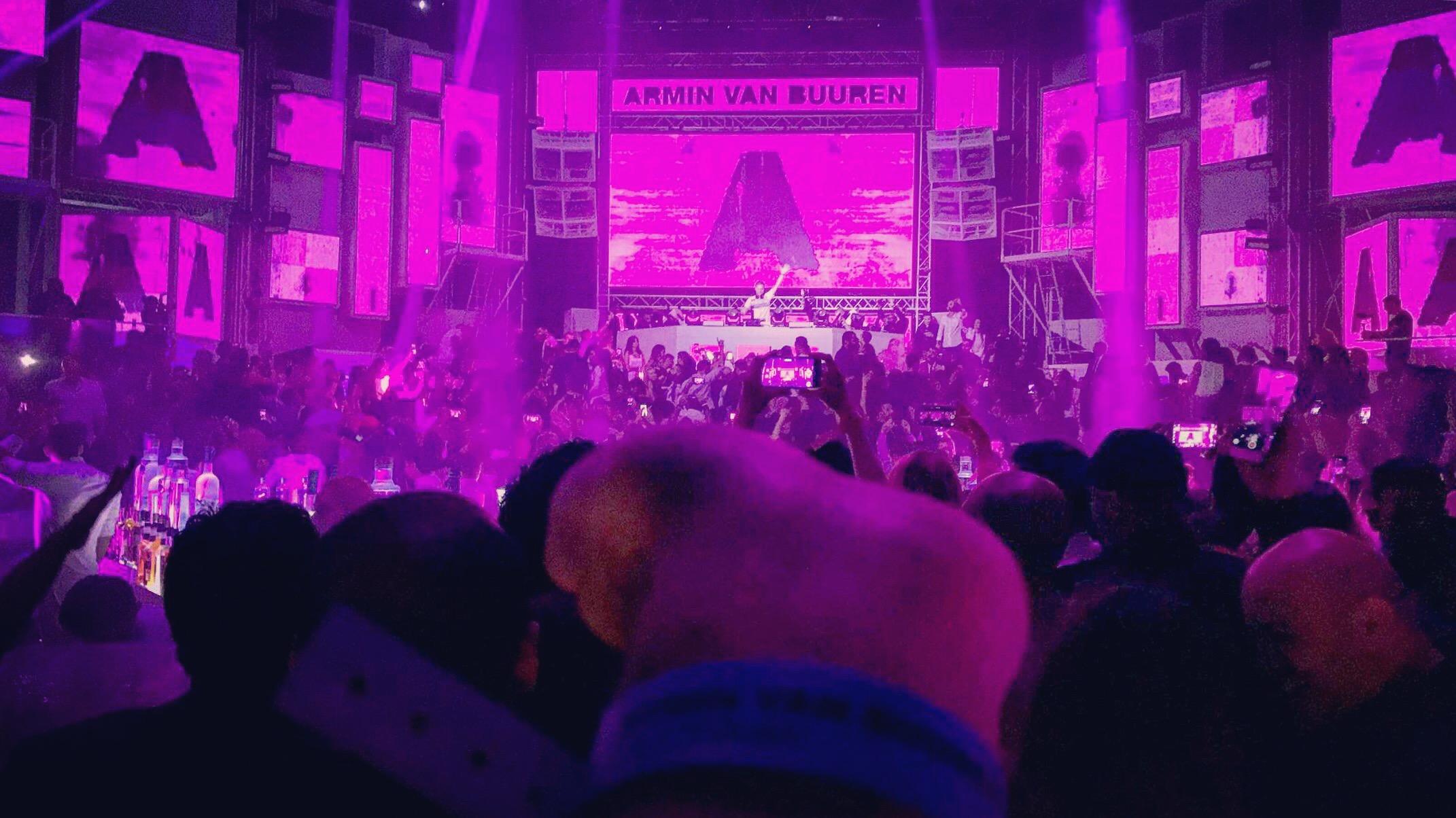 New Years at Armin Van Buuren at White Dubai