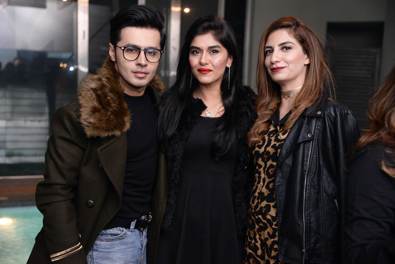 Saim,Arooj and Jaweria