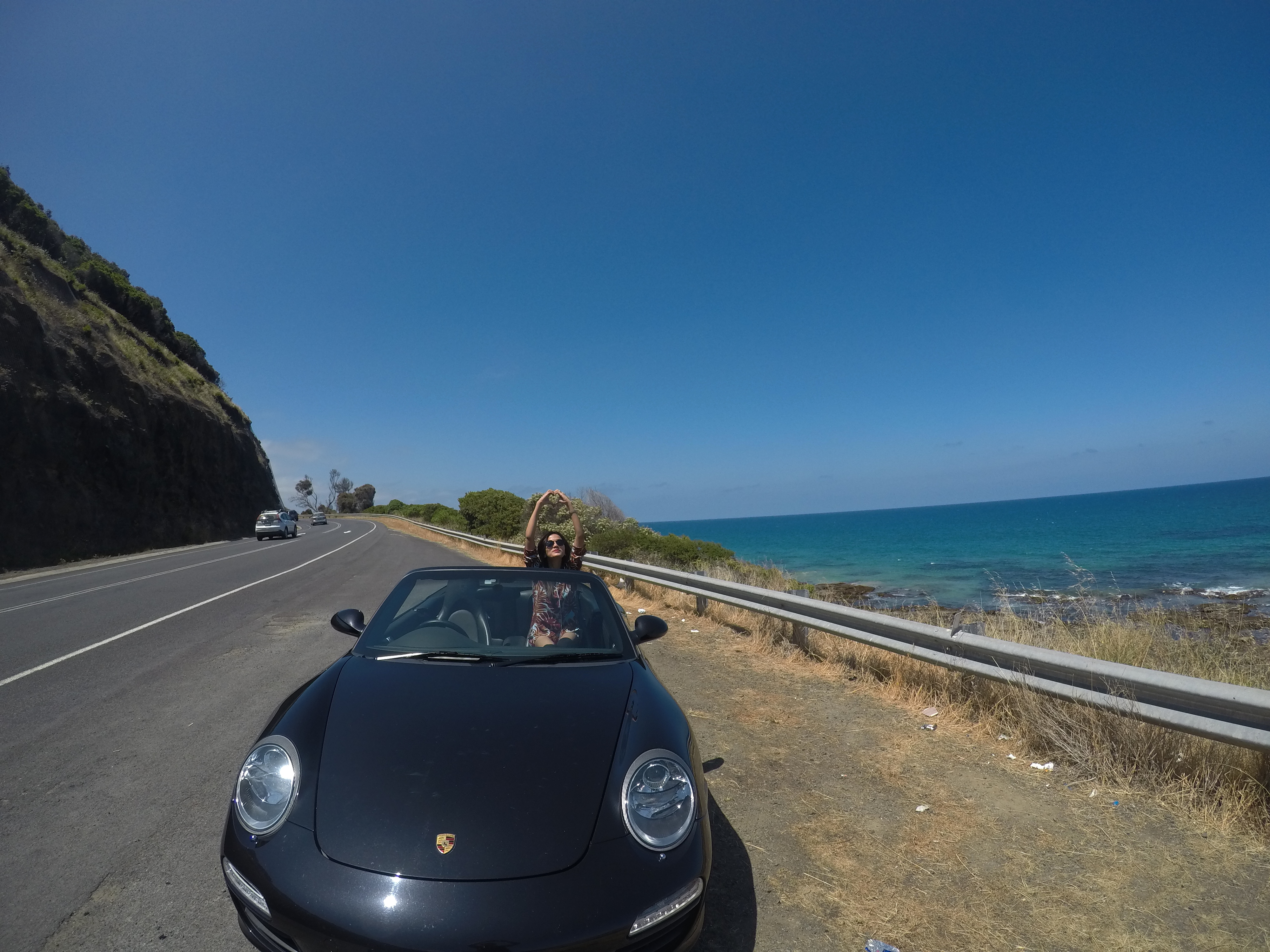 Stunning views on the Great Ocean Drive