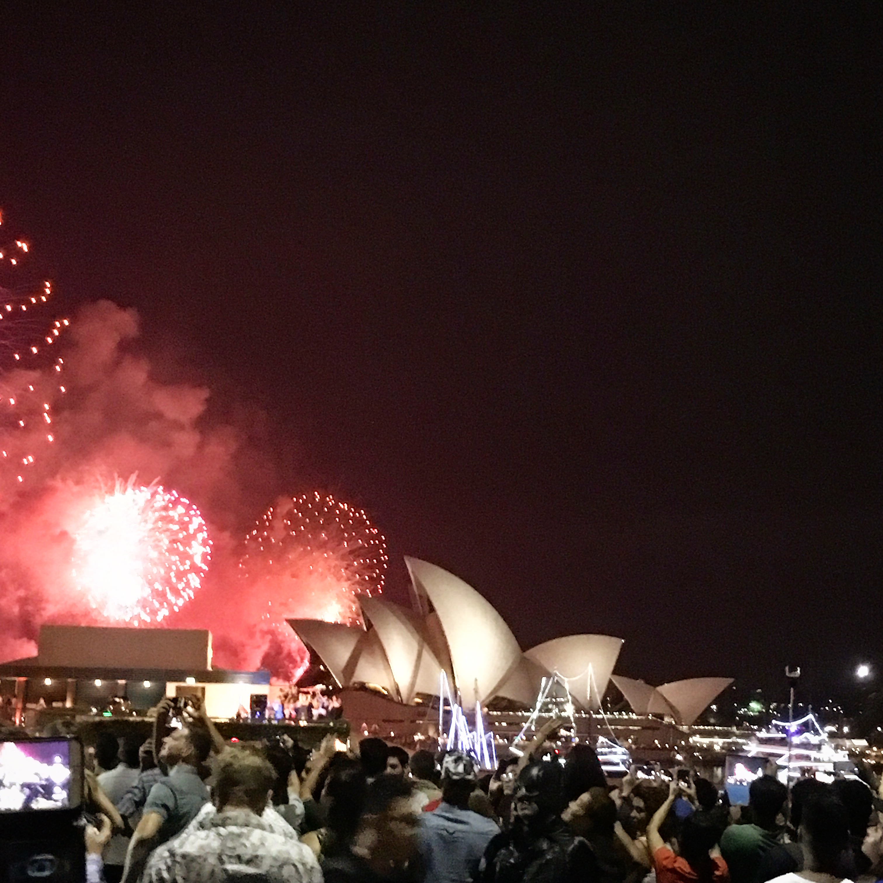 The Sydney Opera House new years eve fireworks have been on my bucket list for as long as I can remember.
