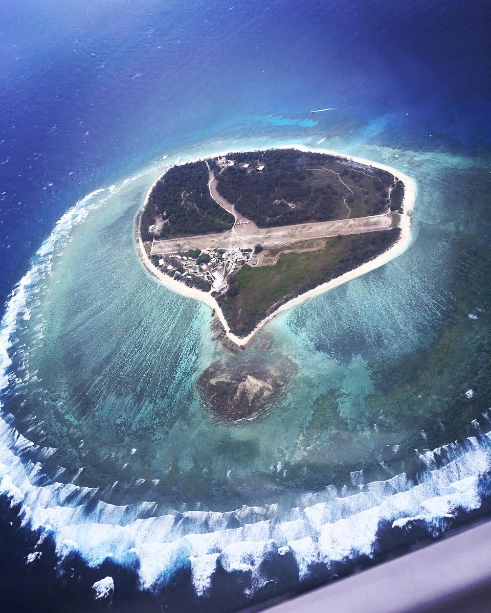 The beautiful Great Barrier Reef, Lady Elliot Island