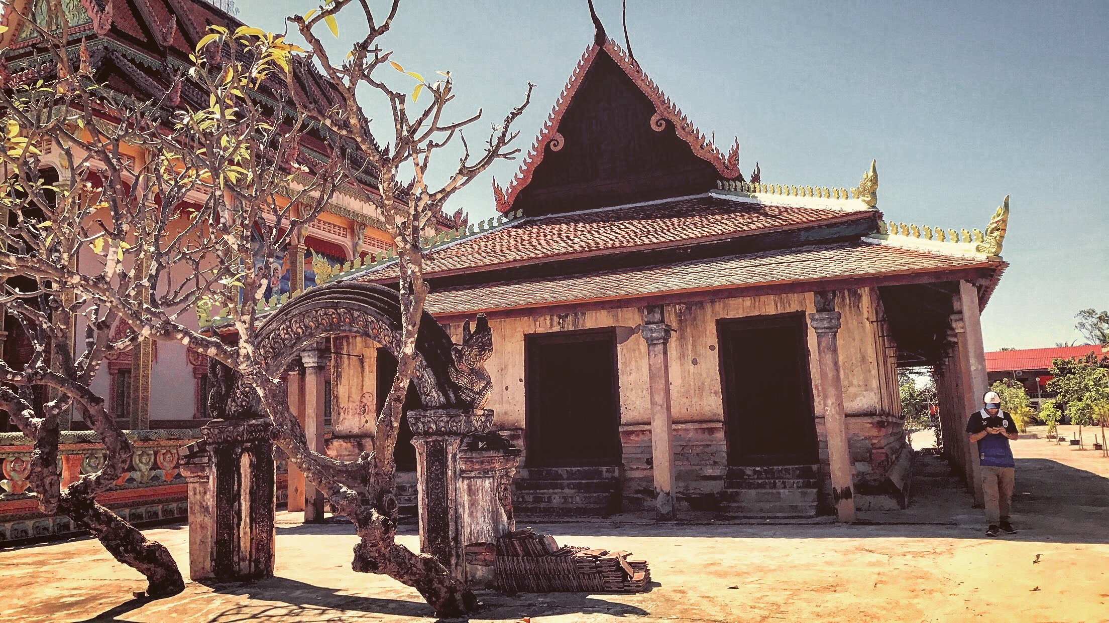 A 115 Year Old Monastery in Siem Reap Cambodia