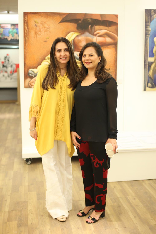 Aamna Taseer and Naila Malik