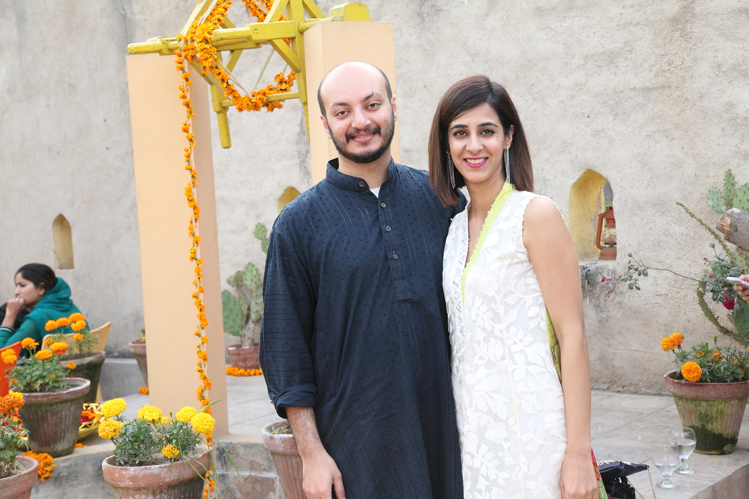 Abdullah Qureshi and Mariam Mushtaq