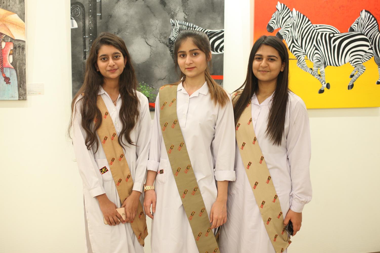 Amal, Laiba and Fariha
