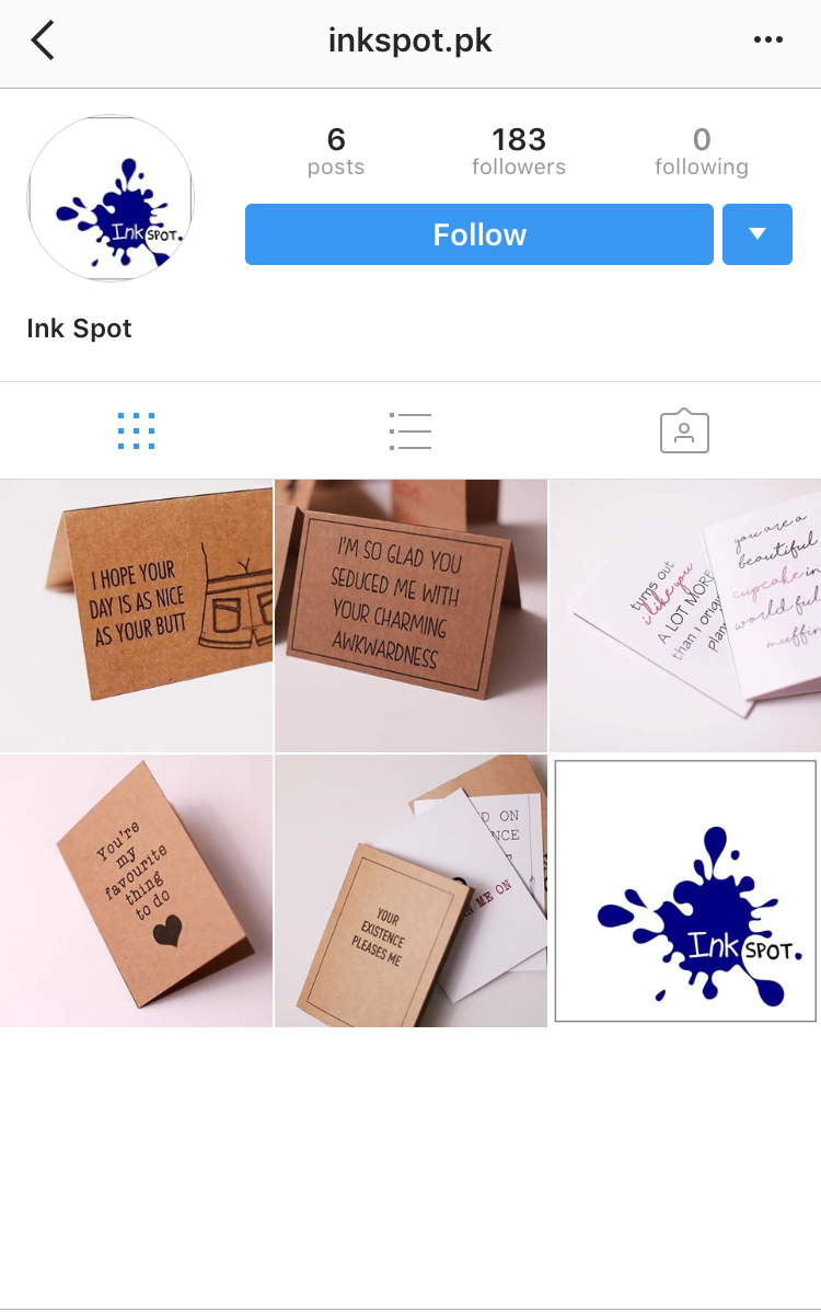 Insta acc of the week