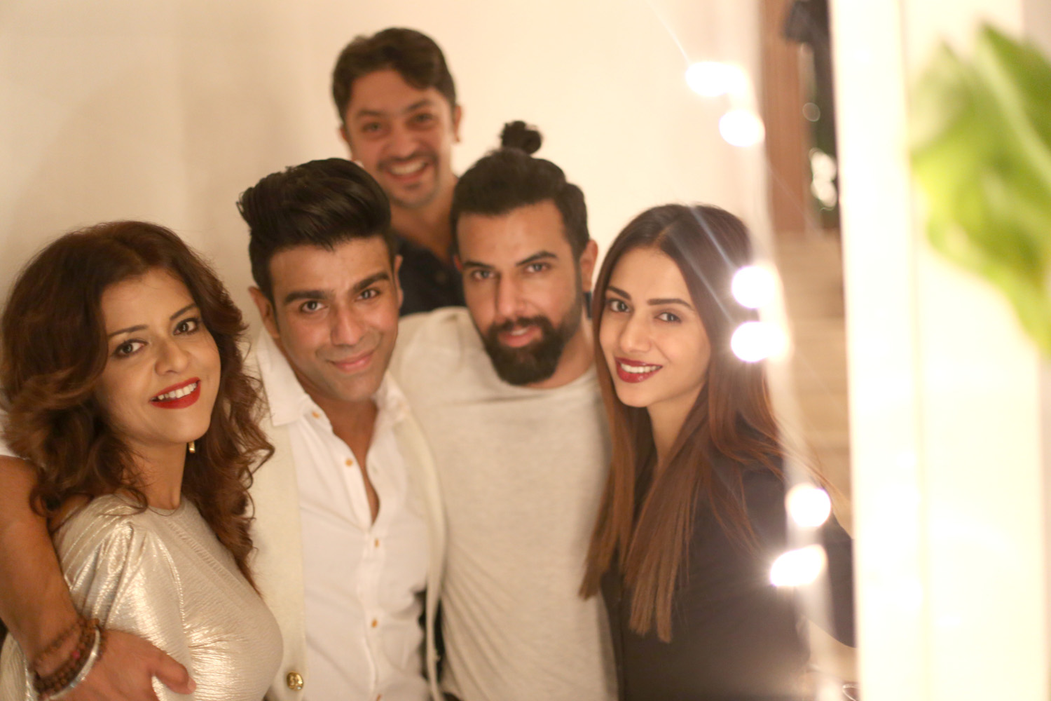 Maria, Junii, Tausif, Noor, and Tooba siddiqui