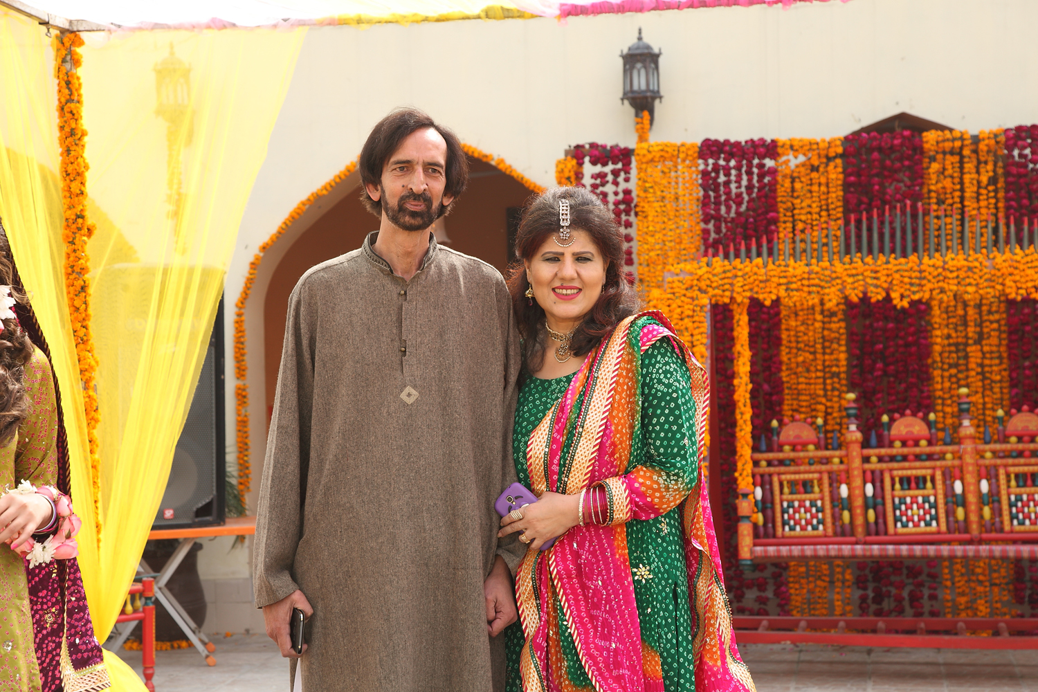 Mr and Mrs Sikandar Pasha