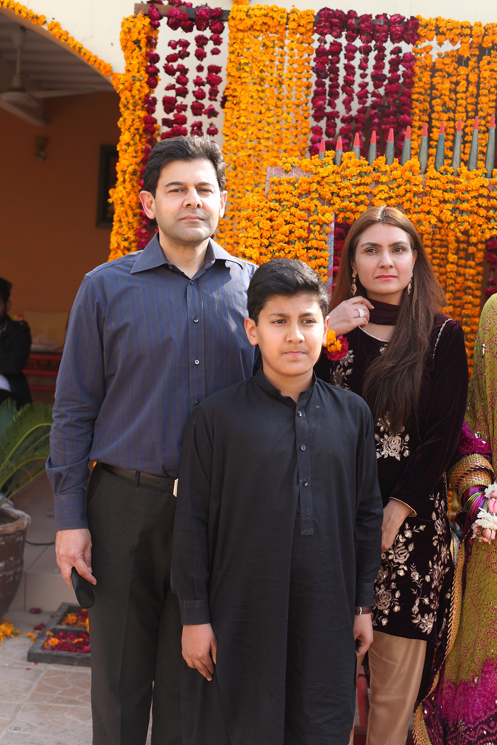 Mr and Mrs Zafar Hasan