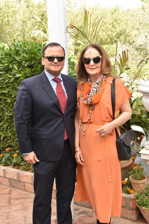 Roger and Hina Bayat