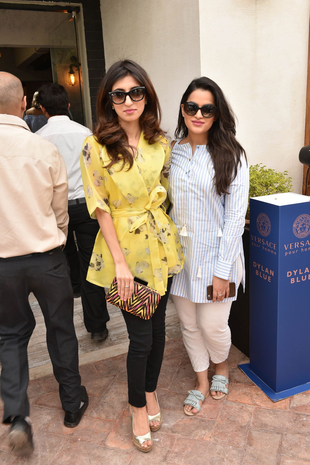Sara and Maria Khan
