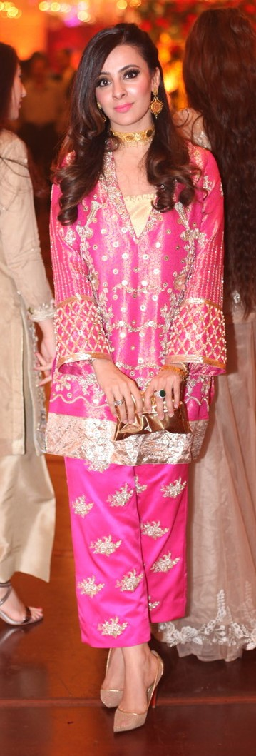 Zainab Salman - Making a statement in a formal from her own label