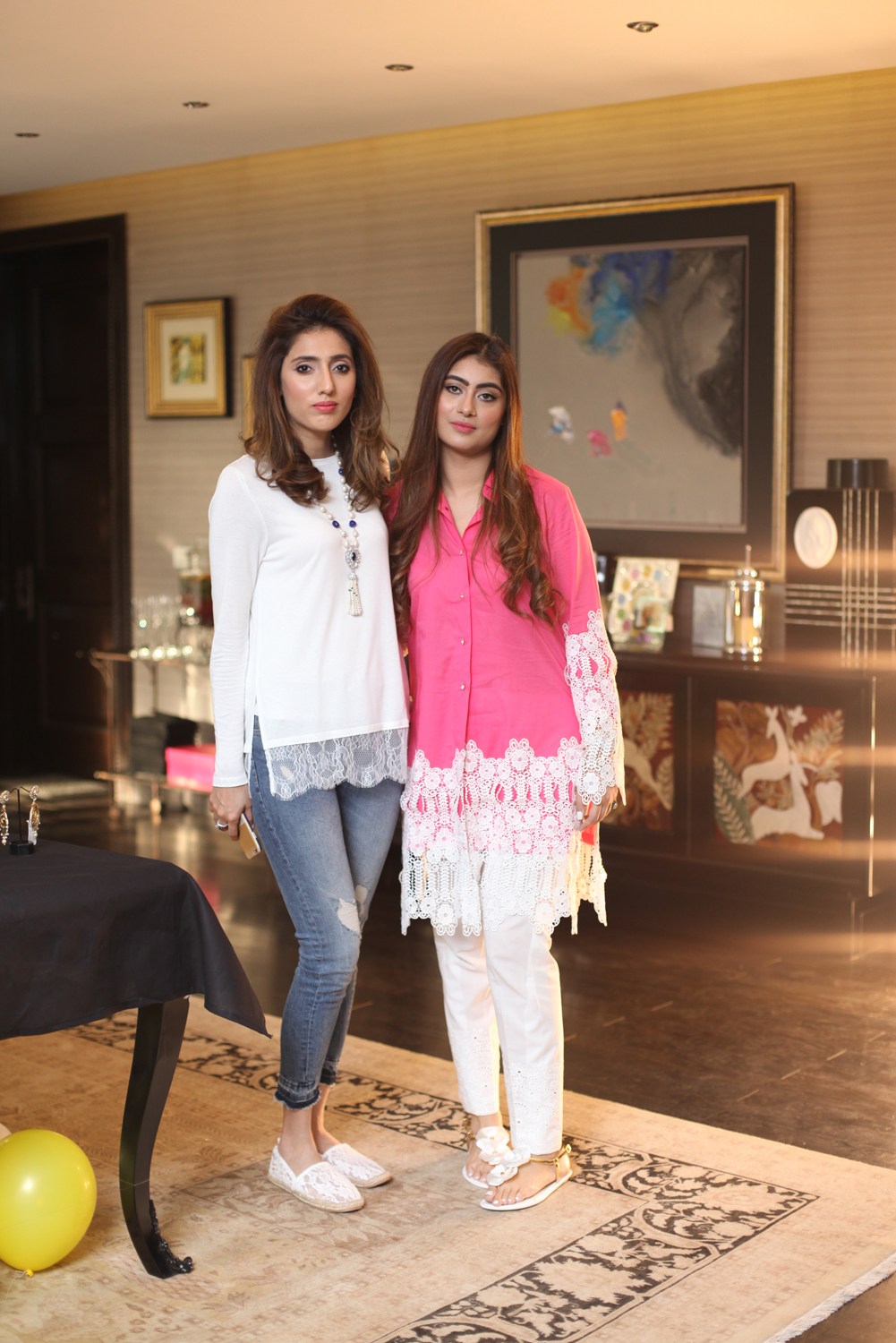 Nazish Sameer and Zainab