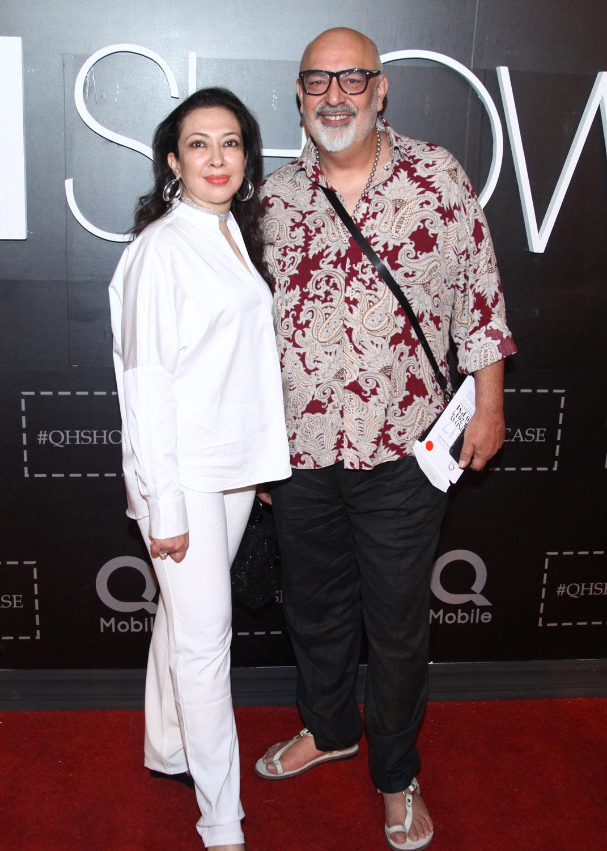 Faiza Amin with Tariq Amin
