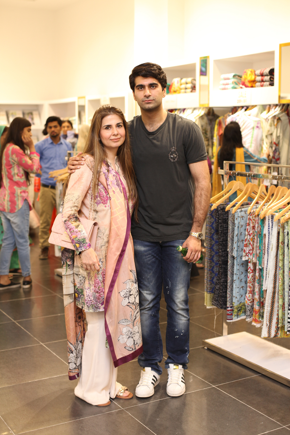 Amber Gohar and Asad Kamal