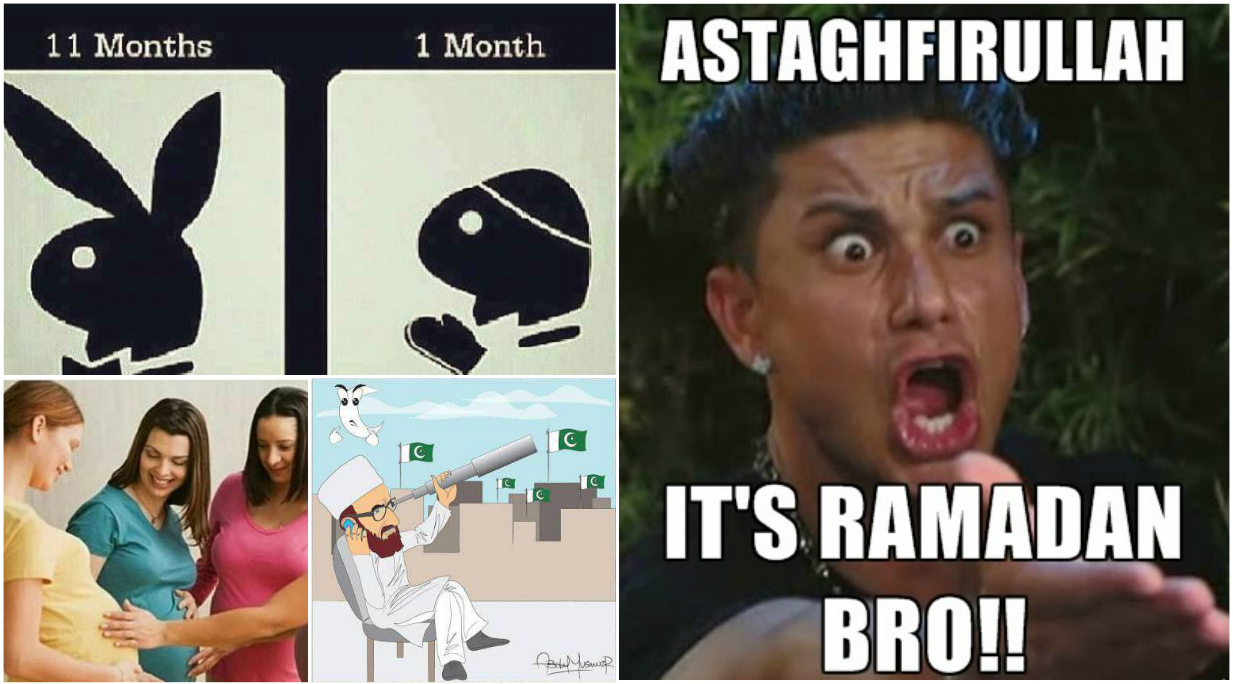 13 signs that ramzan has arrived
