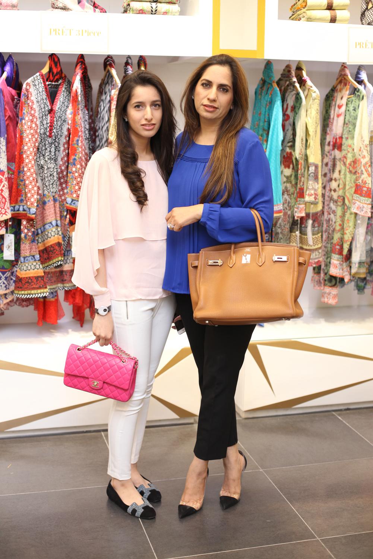 Fatima and Beena