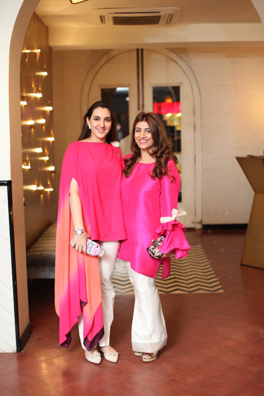 Samah Mudasar and Amna Adeel Monnoo