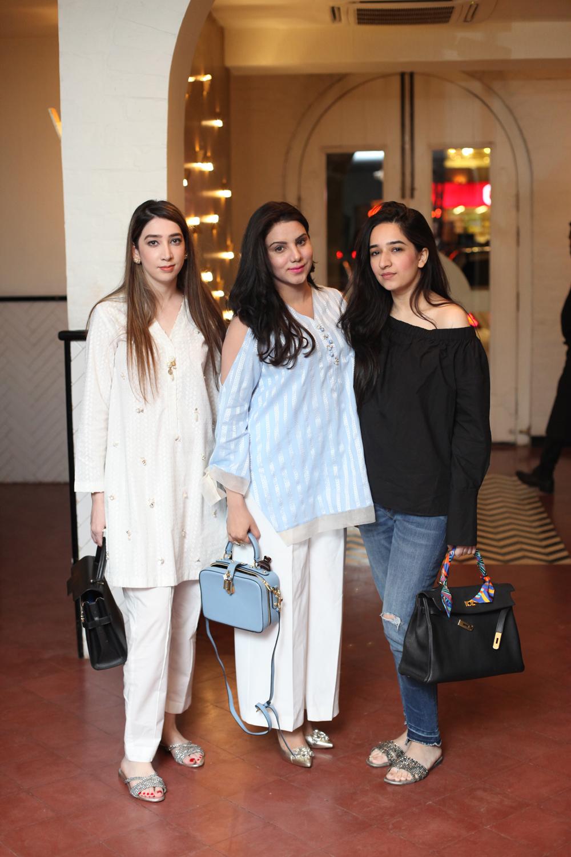 Zainab Soofi, Huma Adil Rokhri and Anum Soofi