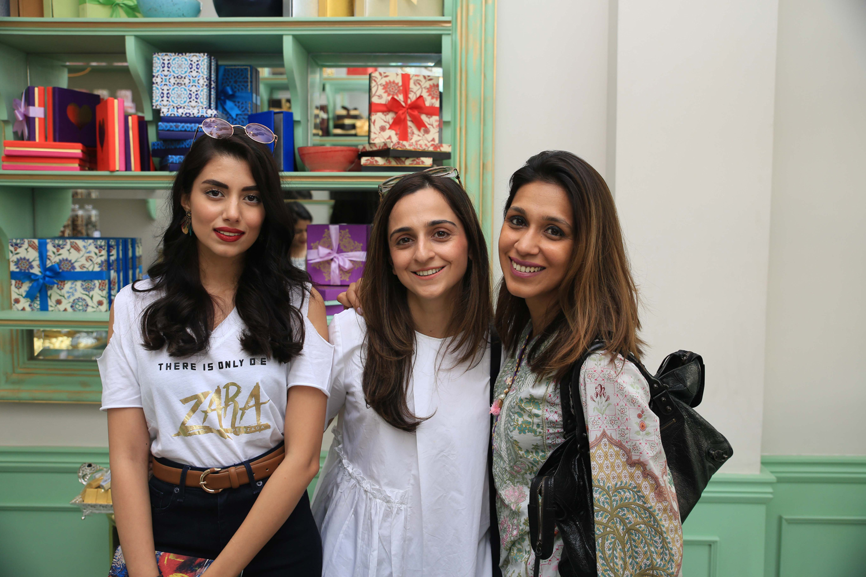 Zara Peerzada, Madiha and Mominah Sibtain