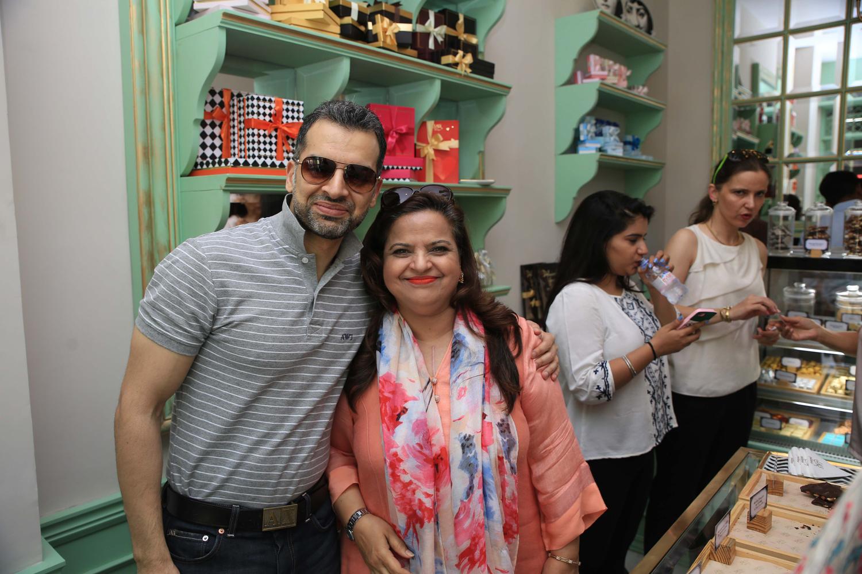 Usman Javed and Lal Majid