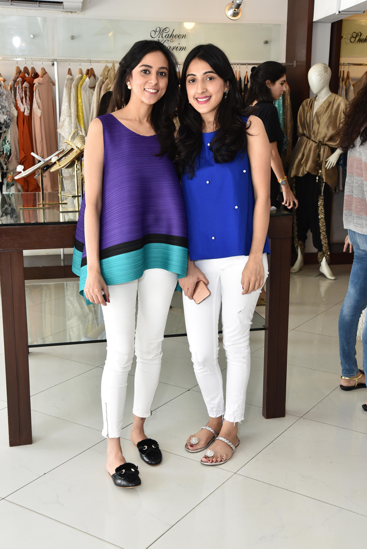 Saadia Siddiqui and Miara Sheikh