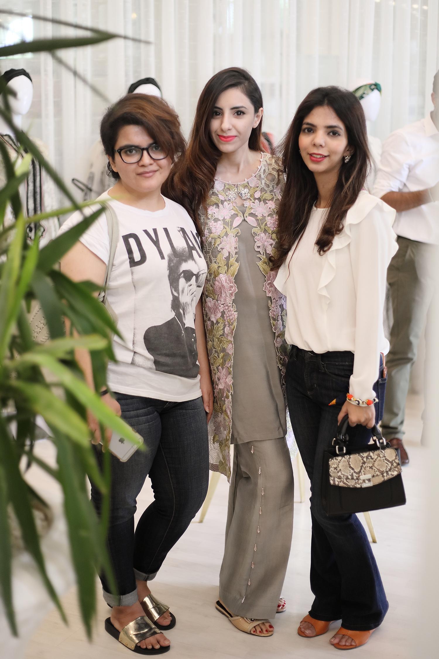 Zohra, Hira and Shireen