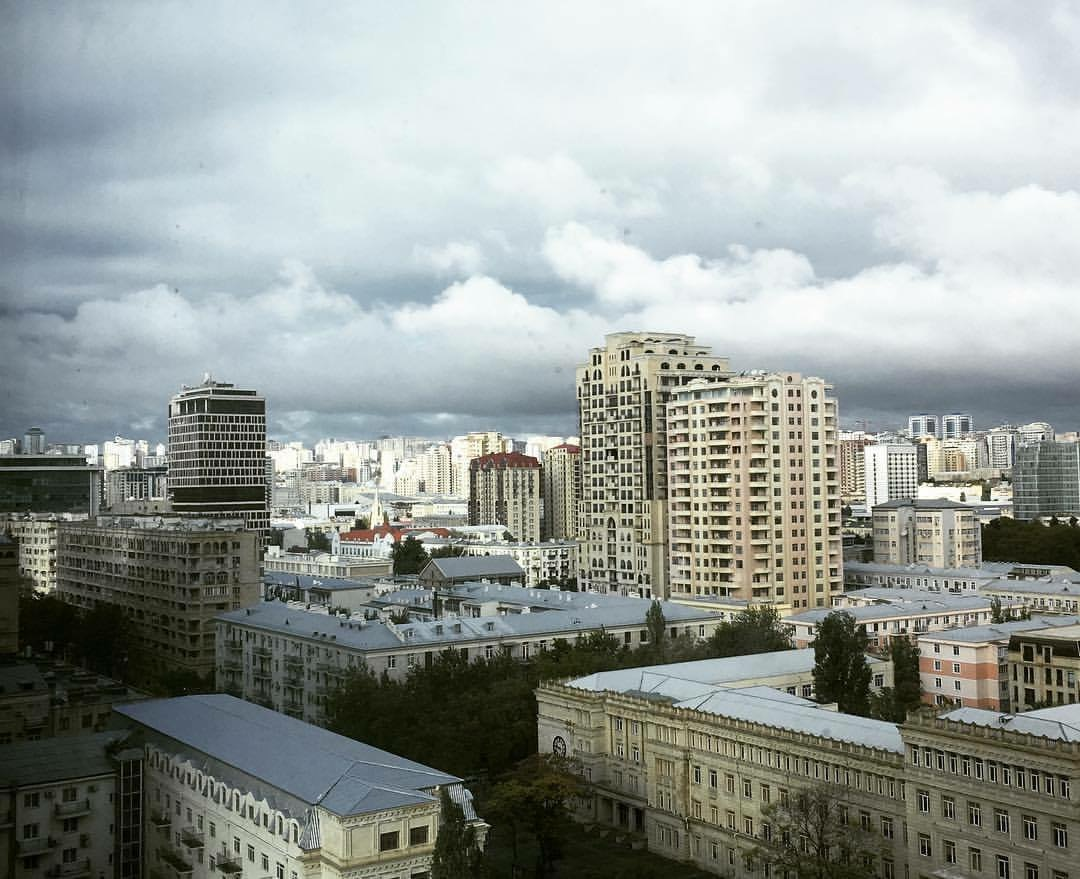 Good morning, Baku! The stunning view from my balcony