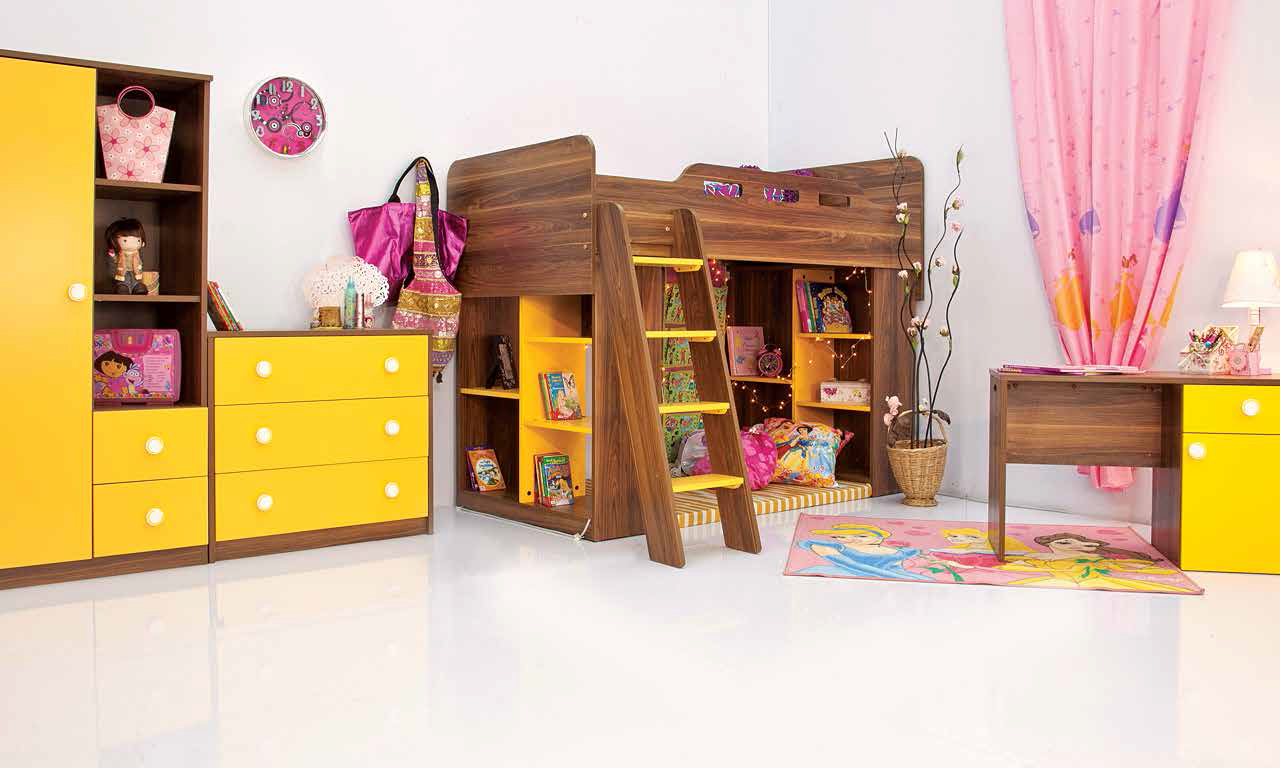 Kids Furniture - Candy Bunk Bed