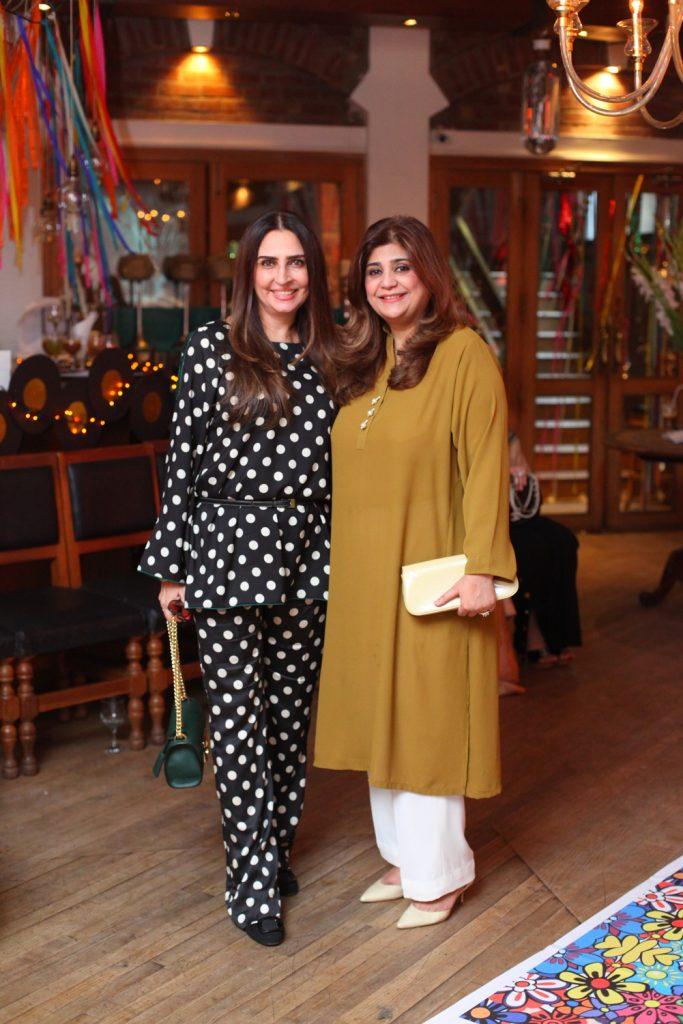 Aamna Taseer and Naila Ishtiaq