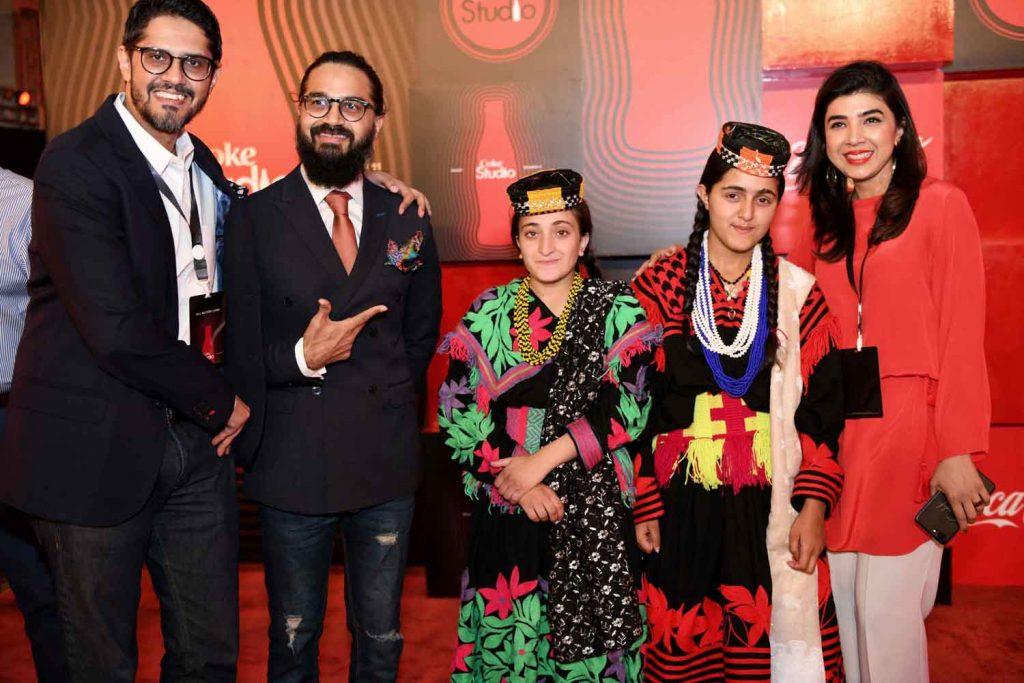 Abbas Arslan, Hamza Ahmed, Ariana, Amrina and Sadaf Zarrar