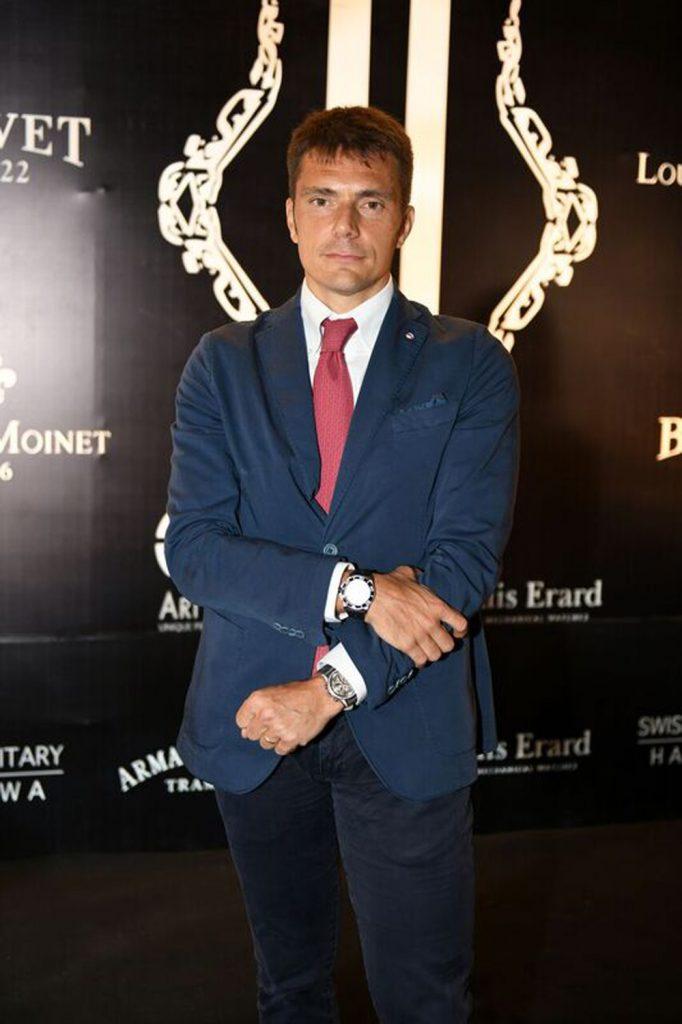 Alessandro Braga (Director Sales Armand Nicolet)