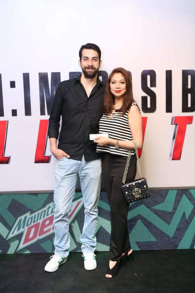 Ali Haider and Meher Aijaz