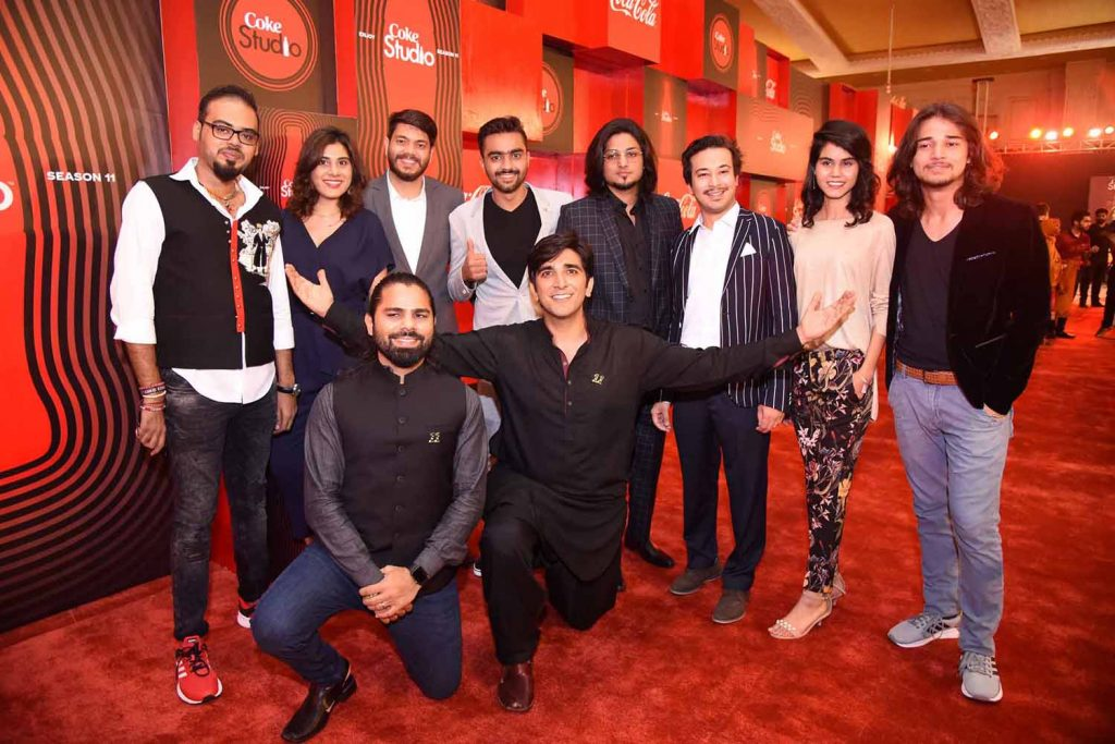 Ali Hamza and Zohaib Kazi with Team Front Foot Media