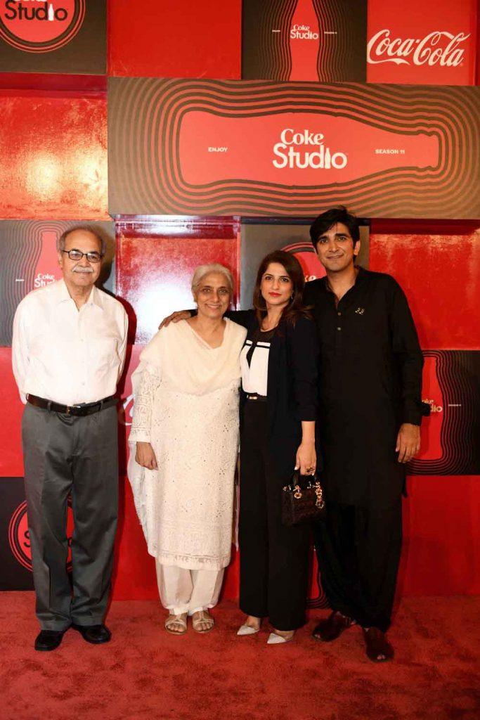 Ali Kazim, Noor Zehra Kazim, Nafisa Khalid and Ali Hamza (2)