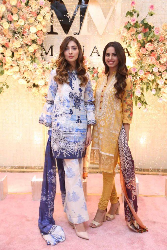 Alisha and Roma wearing Manara by Maria Asif Baig