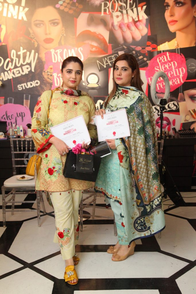 Amaima and Saira Shahzad