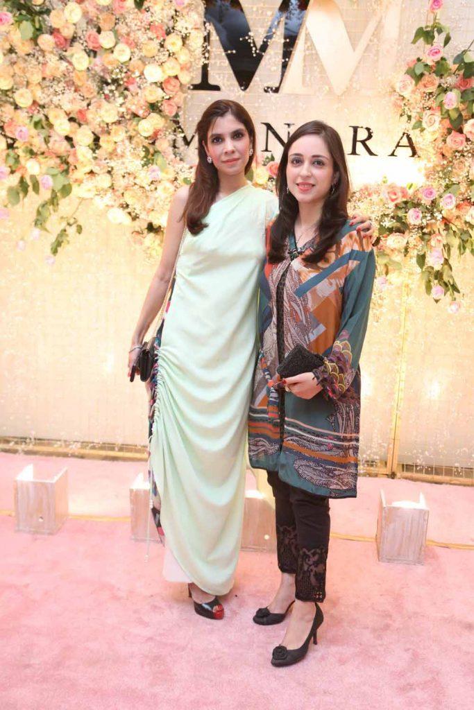 Amirah Shafiq with Nadia Ali