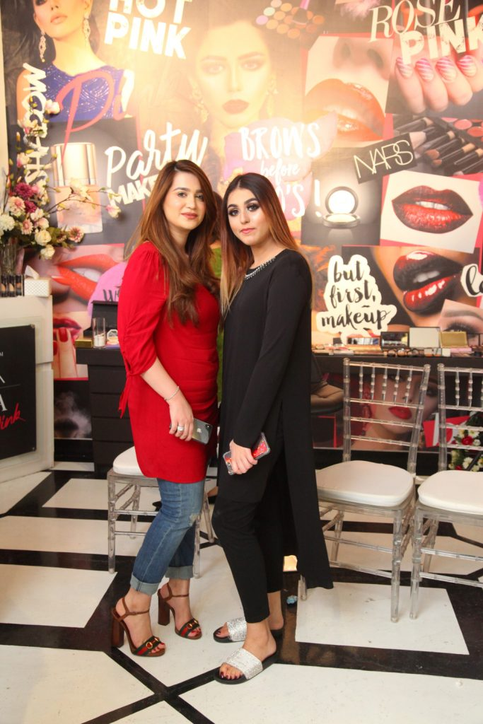 Ana Raja and Mahnoor Arbab