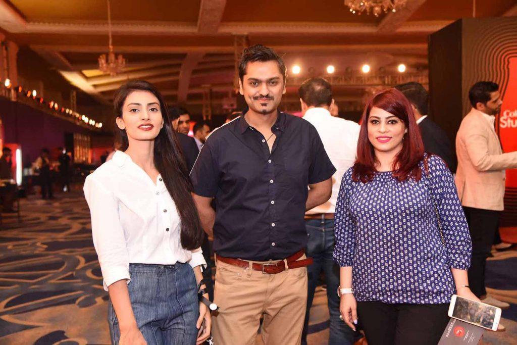 Ayesha Saleem, Raza Munir and Annie Chaudhry