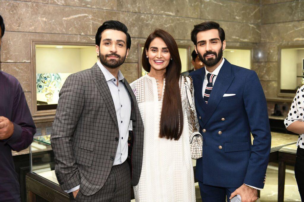Azfar Rehman, Mehreen Syed and Hasnain Lehri